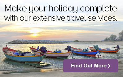 Travelling overseas? We can help you with your travel needs.