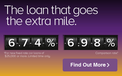 The loan that goes the extra mile. Click here.