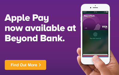 Apply Pay now available at Beyond Bank.