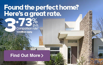 Found the perfect home? Here's a great rate. 3.83% p.a.